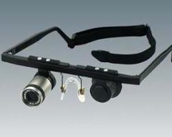 Optiek Hauman -Loepen, Low Vision & Medische Filter - Telescope Carrier Systems